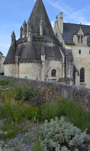 Fontevraud Abbey detail