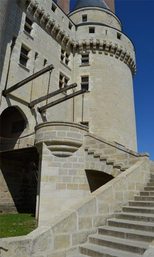 Chateau of Langeais detail